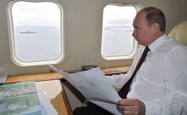 Путин намерен реализовать «проект планетарного масштаба», задуманный ещё при Сталине