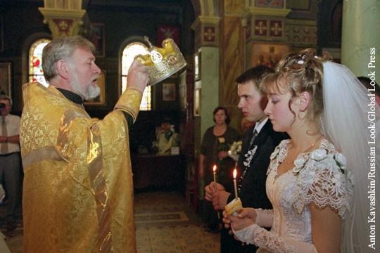 Конституцию побоку! В Госдуме предлагают юридически признать венчание