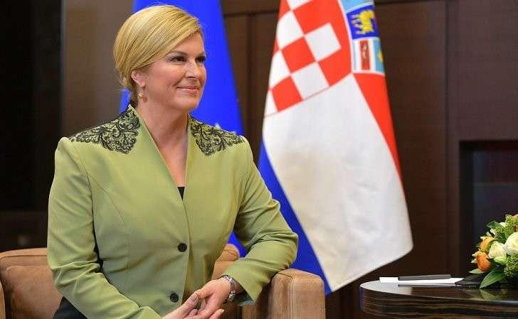 Президент Республики Хорватии Колинда Грабар-Китарович.