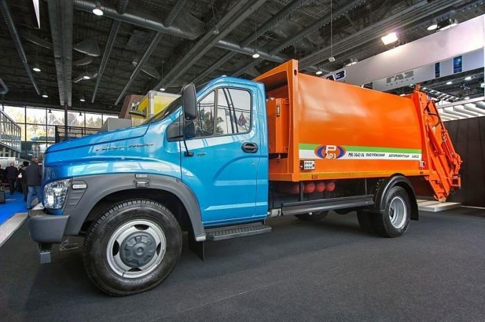«Группа ГАЗ» представила модели спецтехники с газовыми двигателями нового поколения