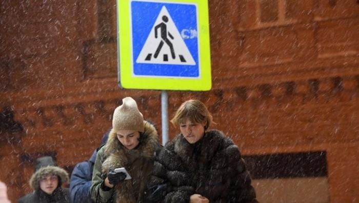 Москва: снег и мороз уже ожидают уже в эти выходные