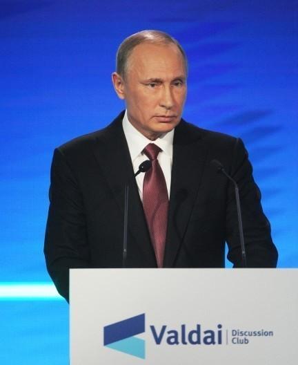 Валдайском форум: прямая трансляция выступления Владимира Путина: Новый Мировой Порядок