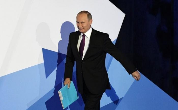 Владимир Путин выступил на сессии Международного дискуссионного клуба «Валдай»