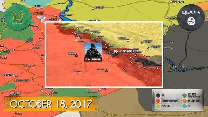 Сирия: Гибель сирийского генерала Иссама Захреддина в Дейр эз Зоре