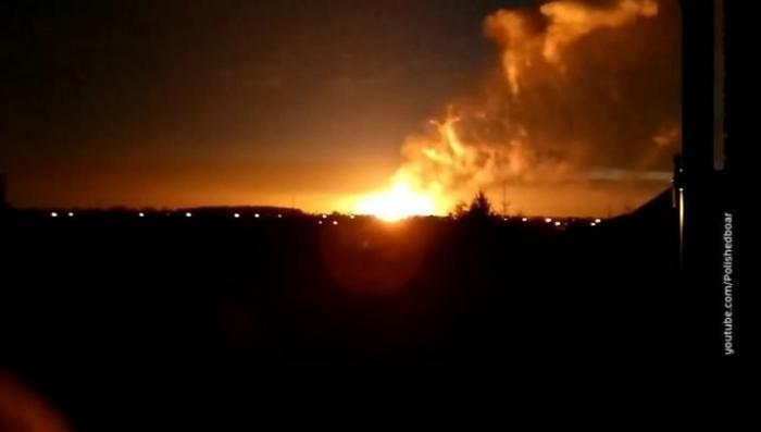Взорвался газопровод: пламя поднялось на 20 метров. Теракт?