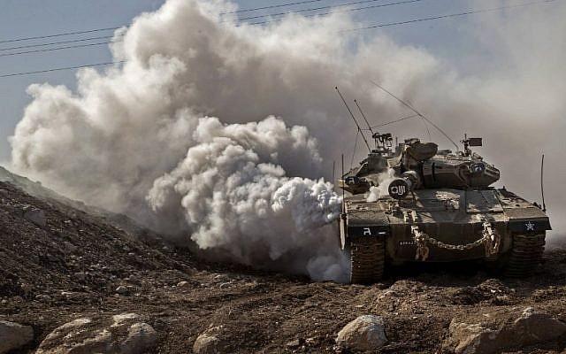 Израиль танками поддержал своих ИГИЛовцев, атаковав сирийскую армию близ Кунейтры