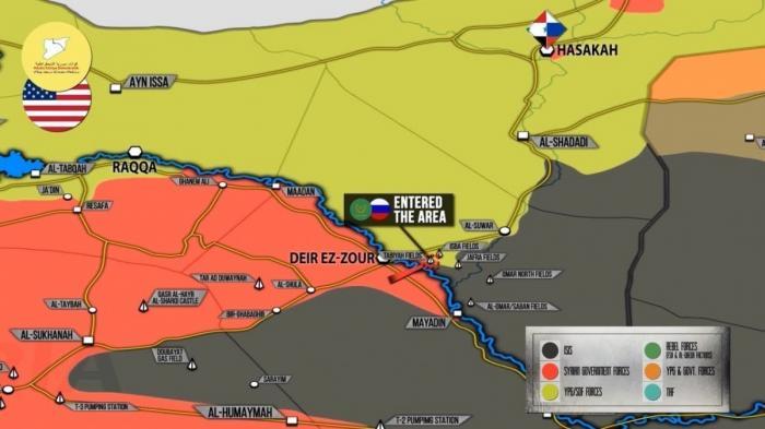 Сирия: русские и иранцы мирно отняли у курдов нефтяное месторождение