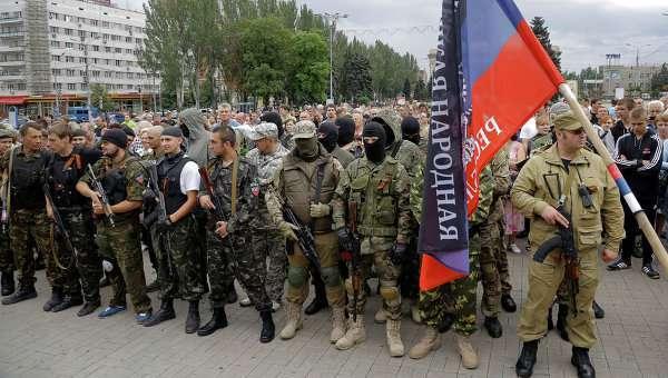 Украинские каратели сдались на милость ополченцев и ударили им в спину
