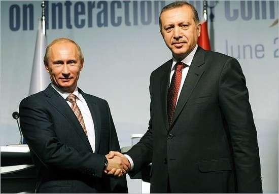 Турецкий президент Эрдоган сближается с Россией