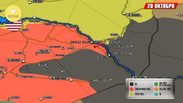 Сирия и Ирак: обзор важнейших событий за неделю