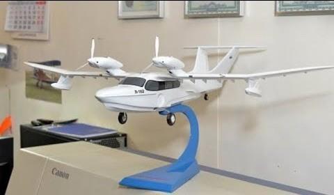В Самаре завершается производство первого арктического самолёта амфибии Л-172 Ямал