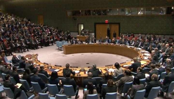 Россия заблокировала резолюцию Совета Безопасности ООН по химатакам в Сирии