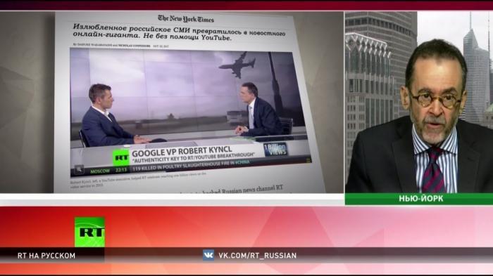 Цензура в США: топ-менеджера Ютуб заподозрили в связях с русским RT