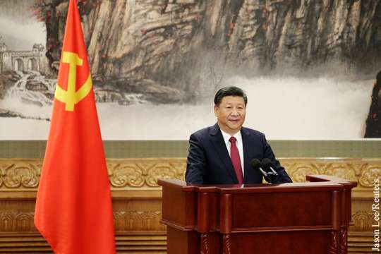 Китай: Си Цзиньпин переизбран генсеком ЦК Компартии