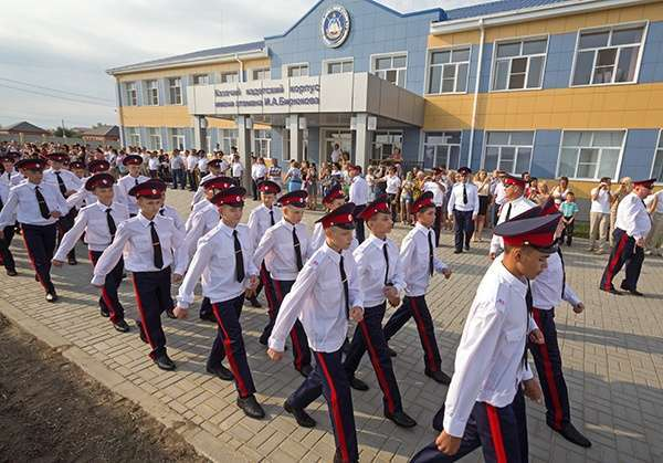 В Астраханской области открылся первый в регионе казачий кадетский корпус