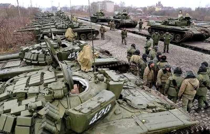 Учения российских войск наращивают интенсивность в областях на границе с Украиной