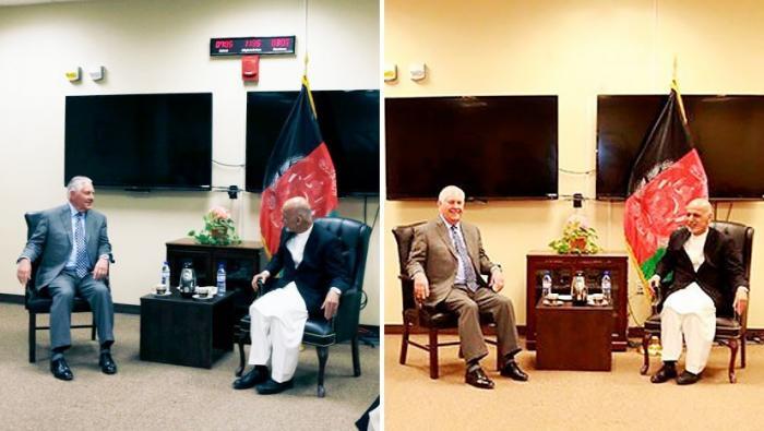 Странный фотошоп и «умеренные» талибы: визит Тиллерсона в Афганистан вызывает вопросы