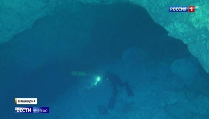 Новый вид жизни открыт на Урале в одной из самых больших подводных пещер