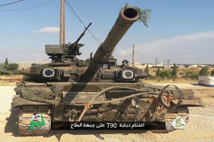 Сирия: обладание русским Т-90А мало чем поможет игиловцам