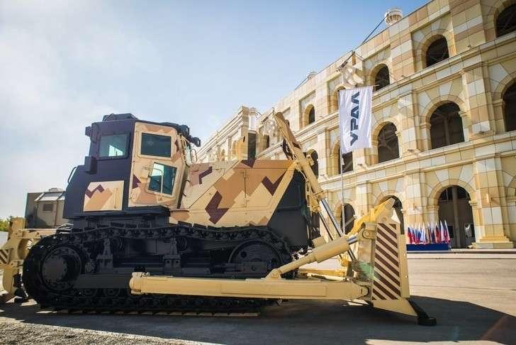 Челябинский тракторный завод освоил сварку броневых листов на боевом тракторе