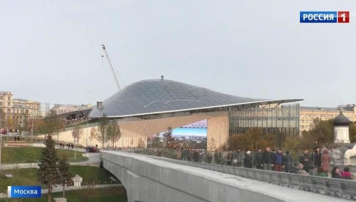 Новый концертный зал в парке «Зарядье» станет одним из самых современных в мире