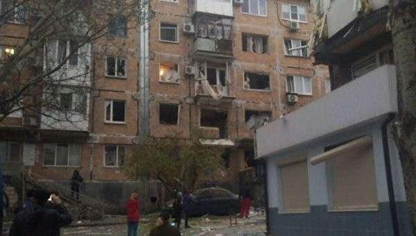 В центре Донецка прогремел взрыв, пострадали несколько человек