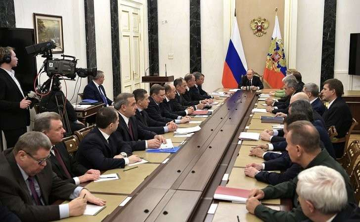 Заседание Совета Безопасности.