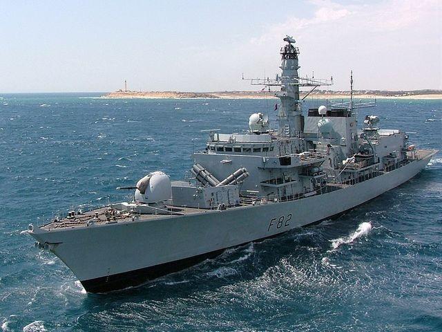 Великобритания распродаёт свой плавающий «боевой» металлолом