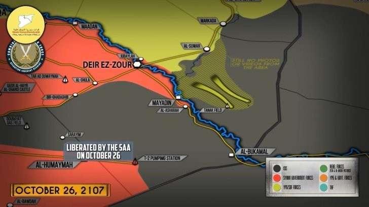 Сирия и Ирак: правительственная армия проигрывает гонку за нефть курдам и ИГИЛ