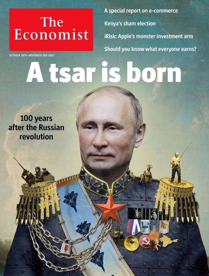 The Economist провозгласил Путина
