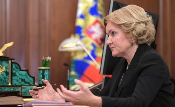 Встреча Владимира Путина сзаместителем Председателя Правительства Ольгой Голодец