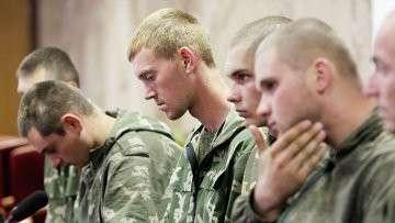 Российские десантники, задержанные на территории Украины вернулись в Россию.