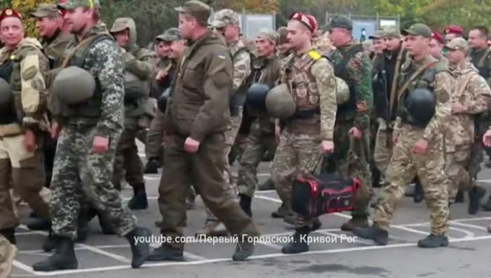 Самоликвидация украинских карателей: небоевые потери в три раза выше боевых