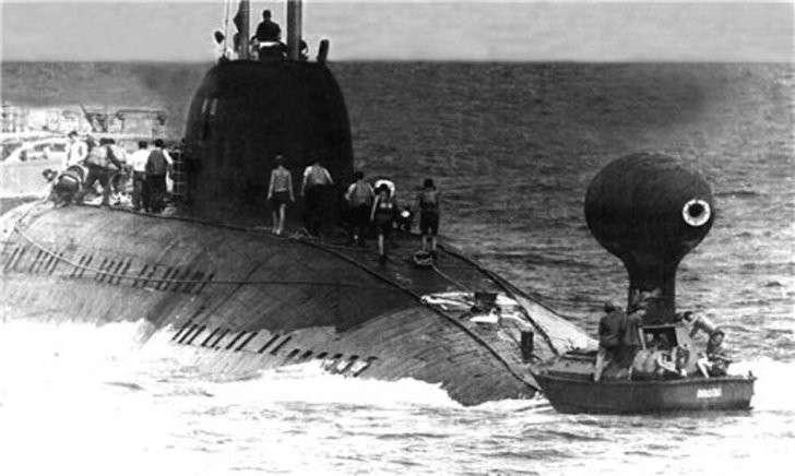 Как советская подлодка увела у пиндосов из-под носа их сверхсекретную систему