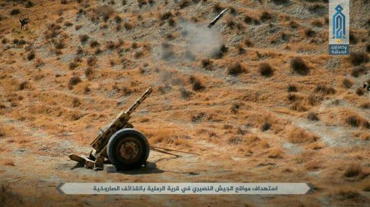Сирия: упорные бои в северо-восточной Хаме