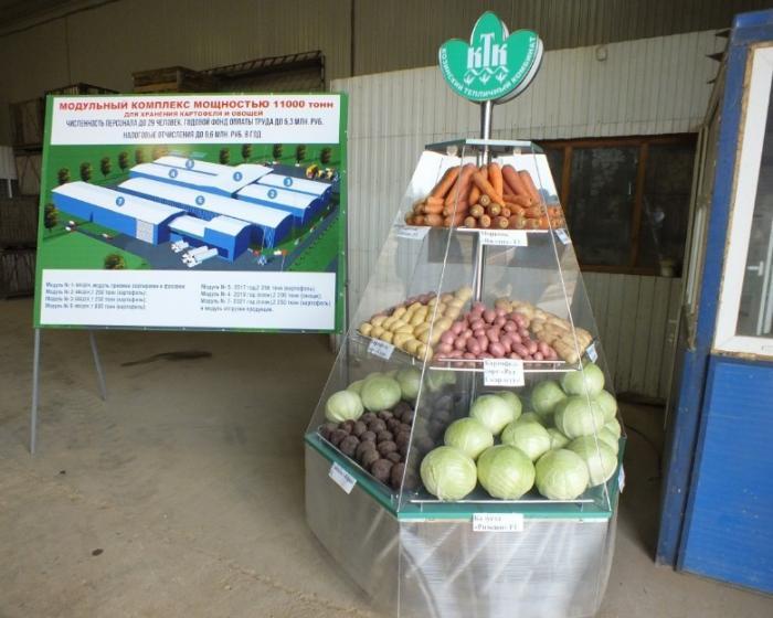 ВСмоленской области реализуется масштабный проект построительству картофелехранилищ