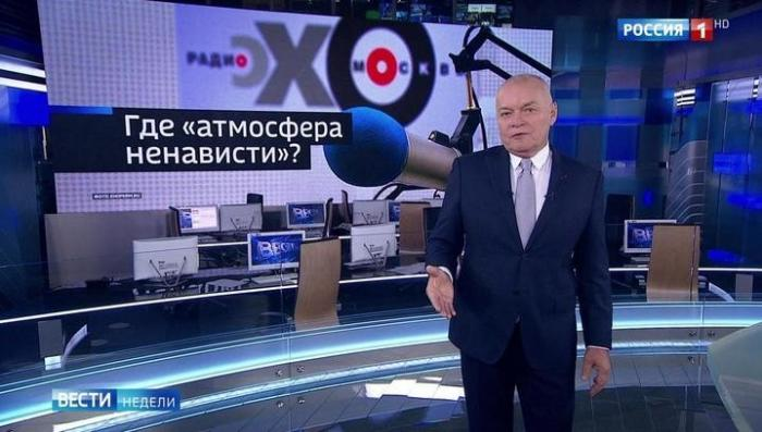 Дмитрий Киселёв посоветовал Эху Мацы не создавать «атмосферу ненависти»