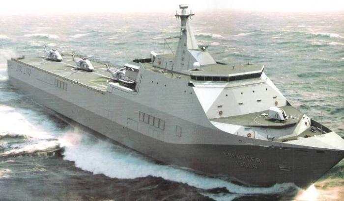 Прибой вместо Мистралей: универсальный десантный корабль ВМФ России