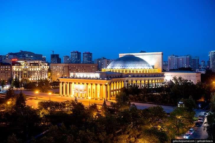 Новосибирск свысоты: лето-2017