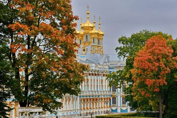 Петербург: золотая осень Царского Села, фоторепортаж
