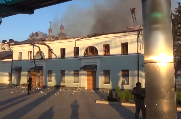 Фото подборка: Донецк под обстрелом