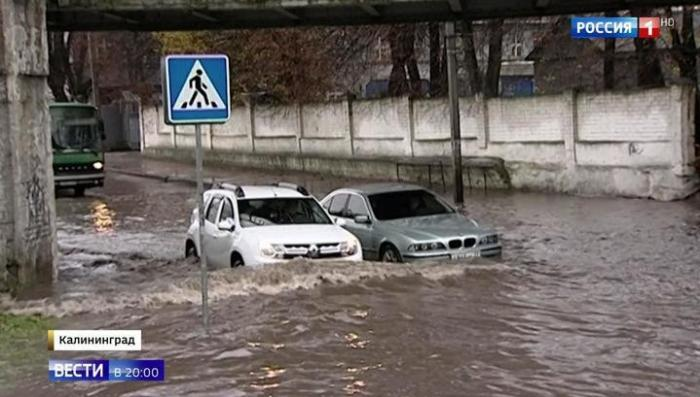 На Москву движется циклон «Герварт», натворивший бед в Европе