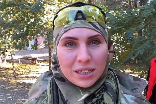 Киев: ликвидирована Амина Окуева, воевавшая в Донбассе на стороне карателей ВСУ