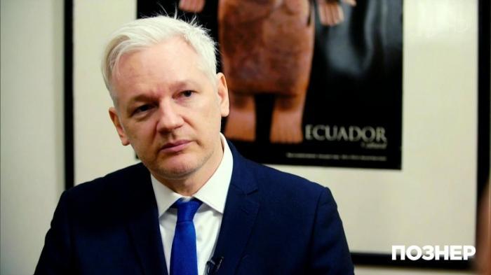 Интервью Джулиана Ассанжа Владимиру Познеру в посольстве Эквадора в Лондоне