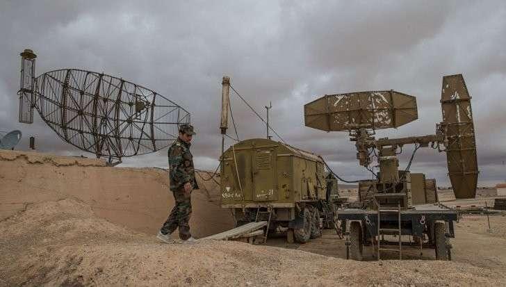ПВО Сирии открыли огонь в ответ на удар террористического Израиля