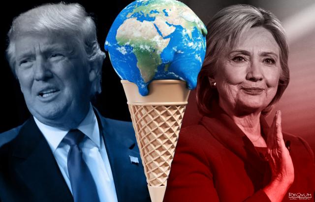 Мировое Правительство: Трамп против Хиллари. Хроники турбулентной Америки