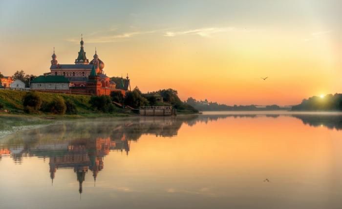 ВСтарой Ладоге Ленинградской области открыт причал для круизных судов