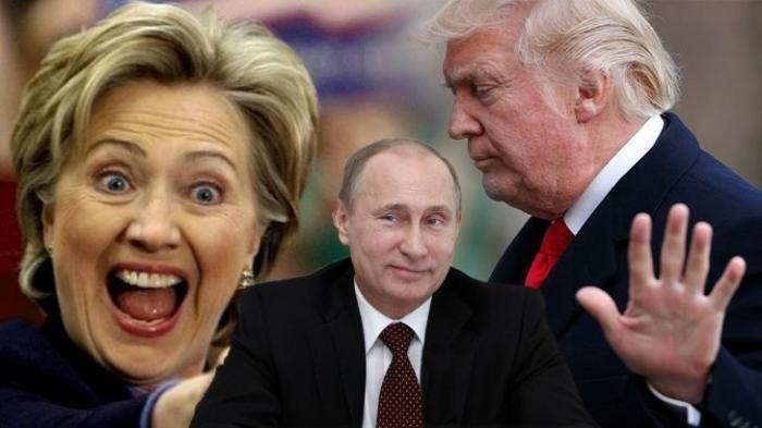 Трамп и Клинтон уличают друг друга в работе на Путина. Американцы в шоке: Путин всех купил
