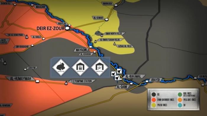 Сирия: Авиаудары ВКС России по наёмникам США и Израиля по Сирии