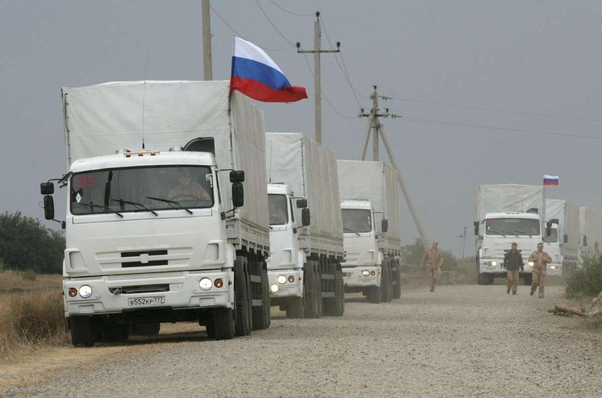 Пиндосам помешали российские гуманитарные конвои в Донбасс